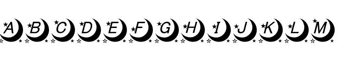 moon font Font UPPERCASE