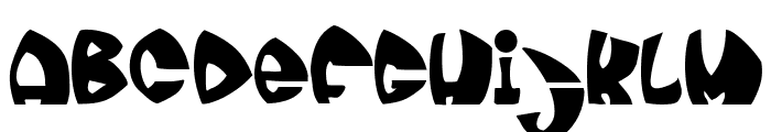 moonie Font LOWERCASE