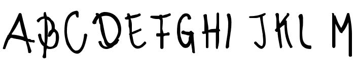 morena Regular Font UPPERCASE