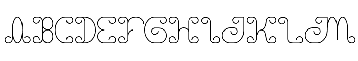 motorcycle Font UPPERCASE