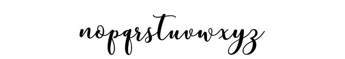 mottonademo Font LOWERCASE
