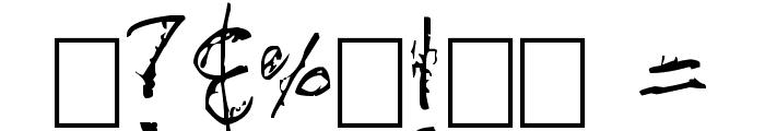 mozugushi Font OTHER CHARS