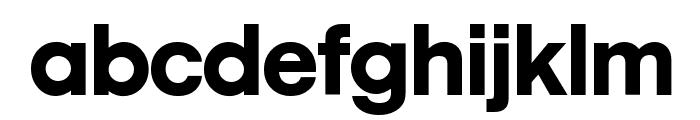 MobilGraphics-Regular Font LOWERCASE