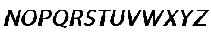 Moorehead-BoldItalic Font UPPERCASE