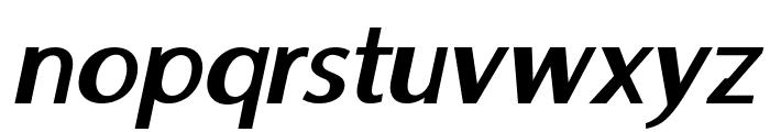 Moorehead-BoldItalic Font LOWERCASE