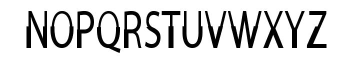Moorehead-CondensedRegular Font UPPERCASE