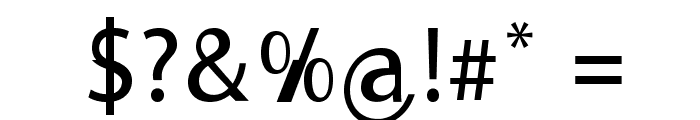 Moorehead Font OTHER CHARS