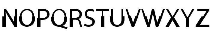 Moorehead Font UPPERCASE