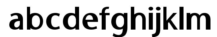 MooreheadBold Font LOWERCASE