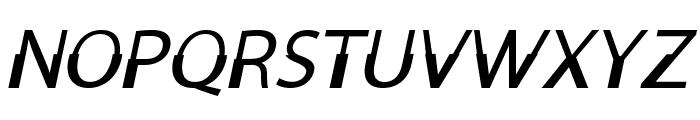 MooreheadItalic Font UPPERCASE