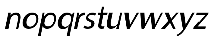 MooreheadItalic Font LOWERCASE