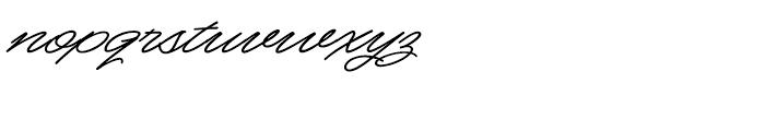 Mocha Script Regular Font LOWERCASE