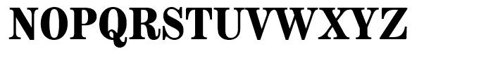 Modern Extended Bold Font UPPERCASE