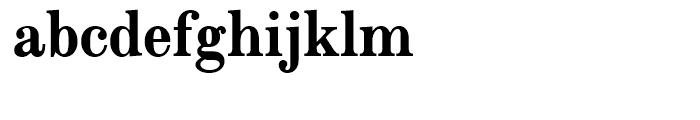 Modern Extended Bold Font LOWERCASE