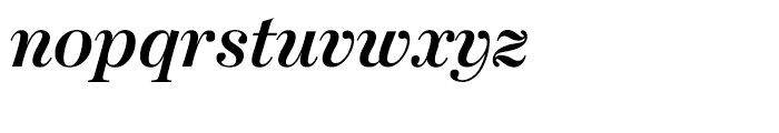 Moderno FB Bold Italic Font LOWERCASE