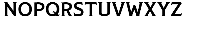 Modesto Text Medium Font UPPERCASE