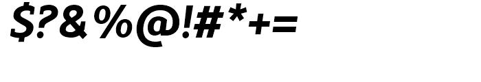 Modum ExtraBold Italic Font OTHER CHARS