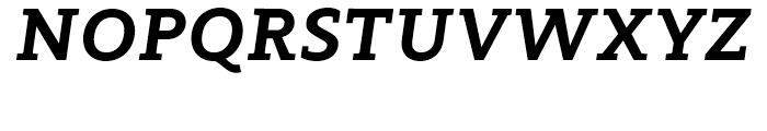 Modum ExtraBold Italic Font UPPERCASE