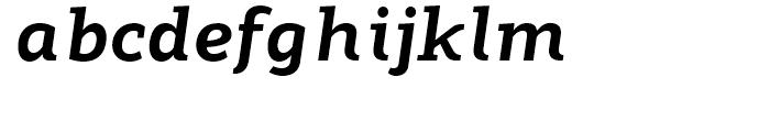 Modum ExtraBold Italic Font LOWERCASE
