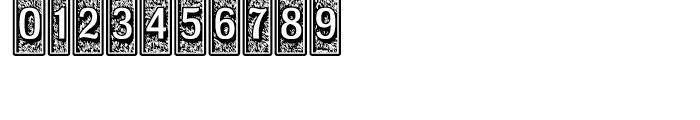 Moja Regular Font OTHER CHARS