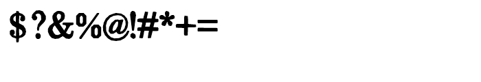 Momentum Regular Font OTHER CHARS