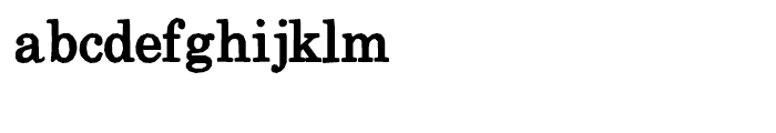 Momentum Regular Font LOWERCASE