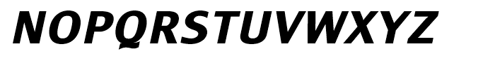 Monem Extra Bold Italic Font UPPERCASE