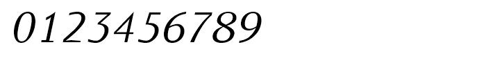 Monem Extra Light Italic Font OTHER CHARS