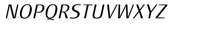Monem Extra Light Italic Font UPPERCASE
