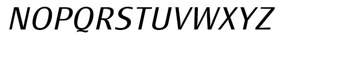 Monem Light Italic Font UPPERCASE