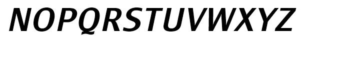 Monem Medium Italic Font UPPERCASE