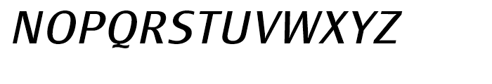 Monem Roman Italic Font UPPERCASE