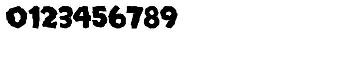 Mongo Regular Font OTHER CHARS