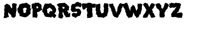 Mongo Regular Font UPPERCASE