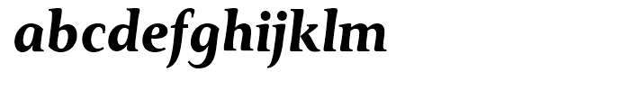 Monkton Bold Italic Font LOWERCASE
