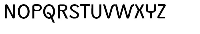 Monolith Sans Normal Font UPPERCASE