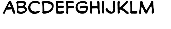 Monologous Regular Font LOWERCASE