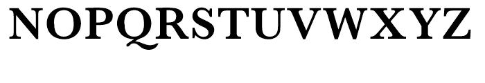 Monotype Baskerville Semi Bold Font UPPERCASE