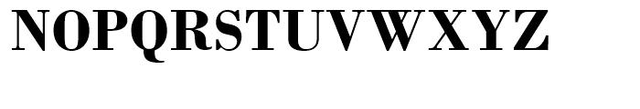 Monotype Bodoni Bold Font UPPERCASE