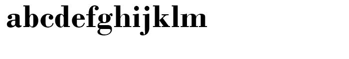 Monotype Bodoni Bold Font LOWERCASE