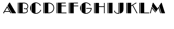 Monotype Broadway Engraved Font LOWERCASE