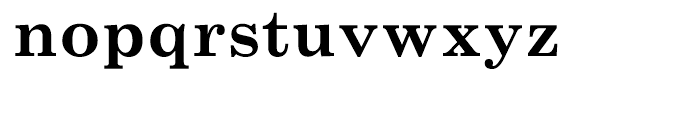 Monotype Century Schoolbook Cyrillic Bold Font LOWERCASE