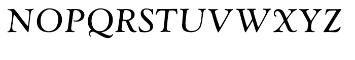 Monotype Goudy Catalogue Italic Font UPPERCASE