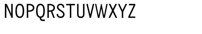 Monotype News Gothic Condensed Font UPPERCASE