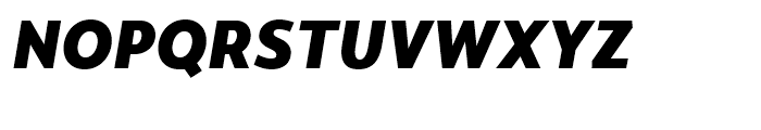 Monsal Gothic Heavy Italic Font UPPERCASE