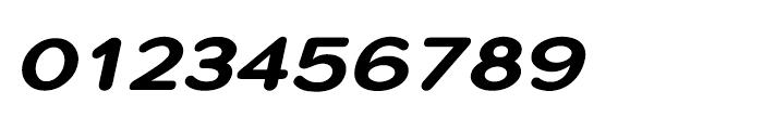 Montag Black Oblique Font OTHER CHARS