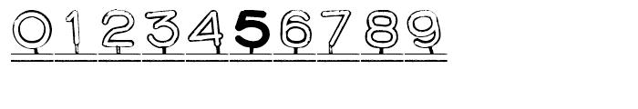 Montaplex Outline Font OTHER CHARS