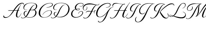 Monte Carlo Regular Font UPPERCASE