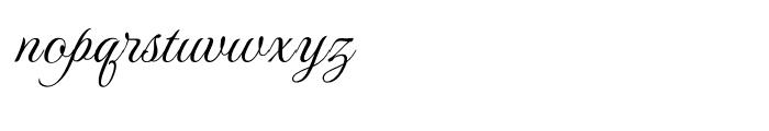 Monte Carlo Regular Font LOWERCASE