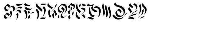 Morel Regular Font LOWERCASE